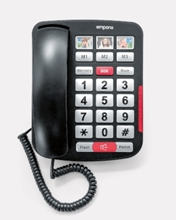 Picture of Big-Button Amplified corded phone AMPLi40